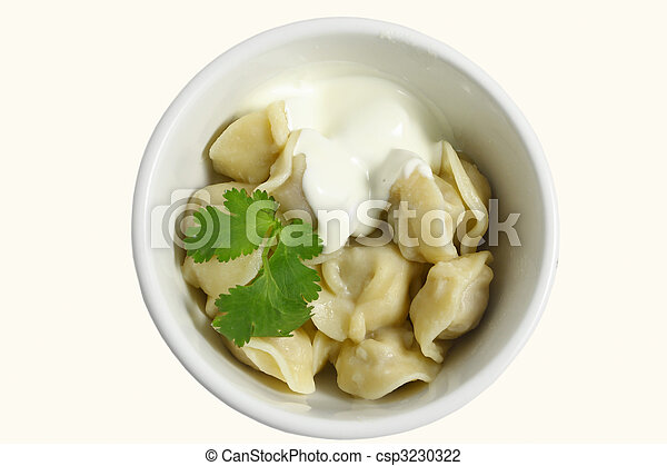 Stock photo of pelmeni russian food csp3230322 search for Art of russian cuisine