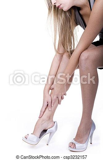 leg shot - csp3232157