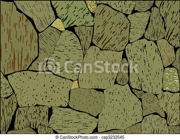 Stone wall - csp3232545