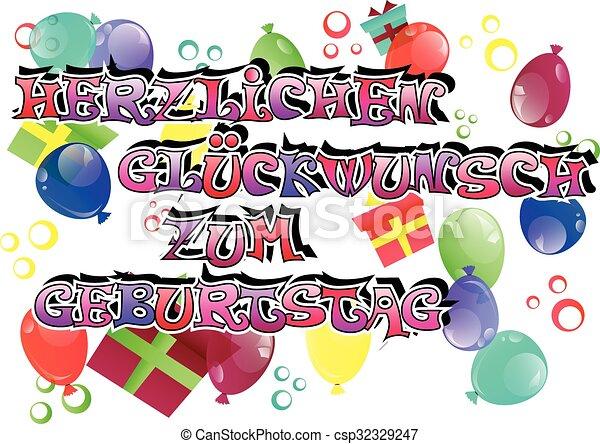 German Birthday Cards gangcraftnet – Birthday Card in German