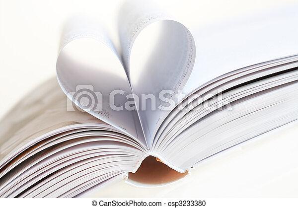 I love books - csp3233380