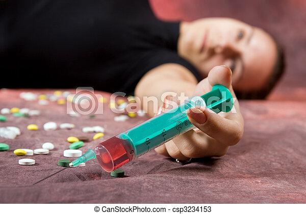 Drugs abuse - csp3234153
