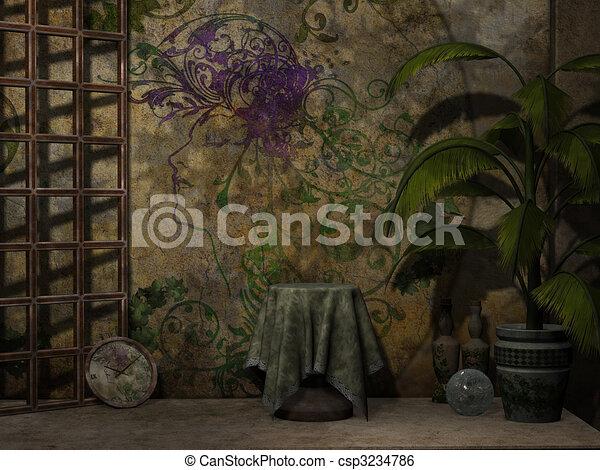 Fantasy Background - csp3234786