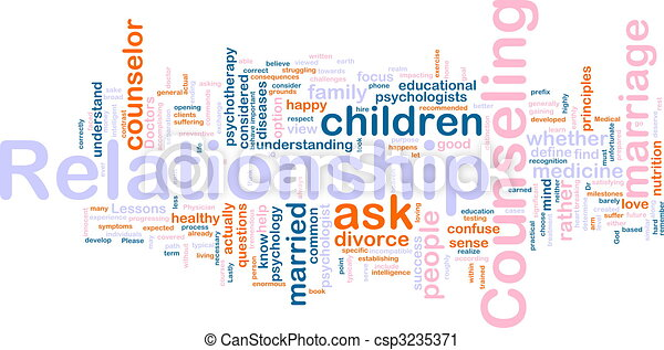 Relationship counseling - csp3235371