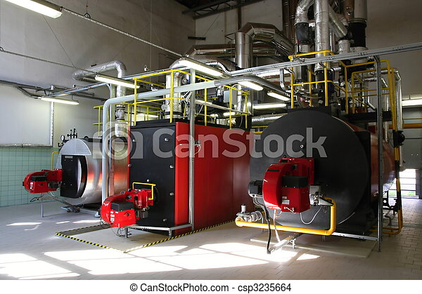 Gas steam boiler - csp3235664