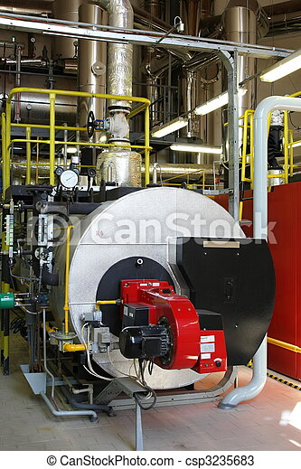 Gas steam boiler - csp3235683