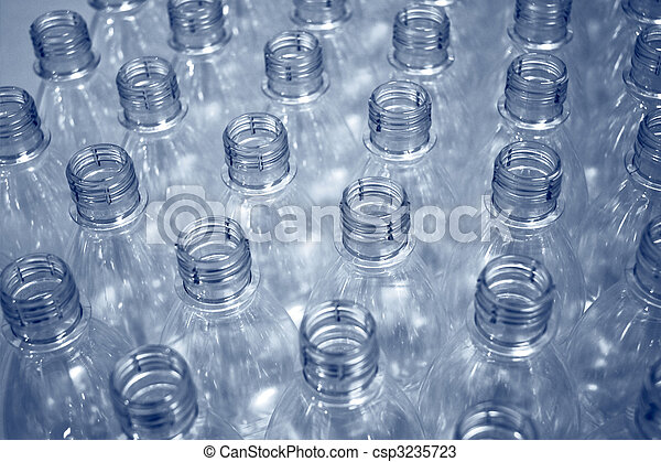 empty plastic bottles - csp3235723