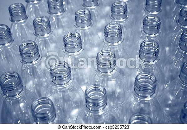 empty plastic bottles - csp3235723