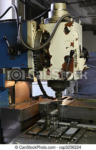Vertical milling machine - csp3236224