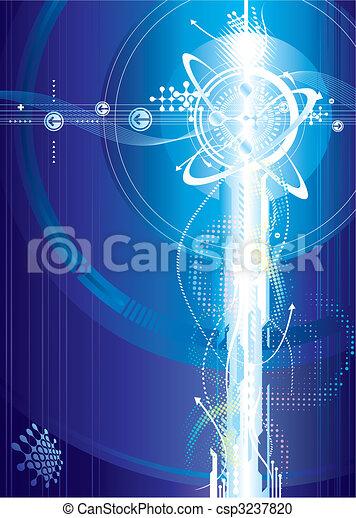 Futuristic Voltage - csp3237820
