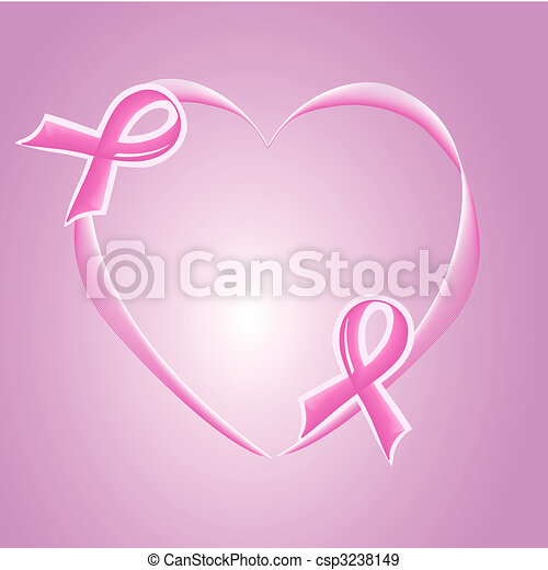 pink Support Ribbon - csp3238149