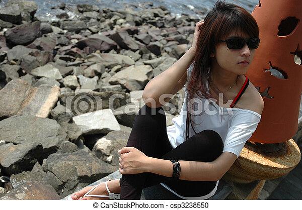 Femme Asiatique photos et images - Banque de Photos