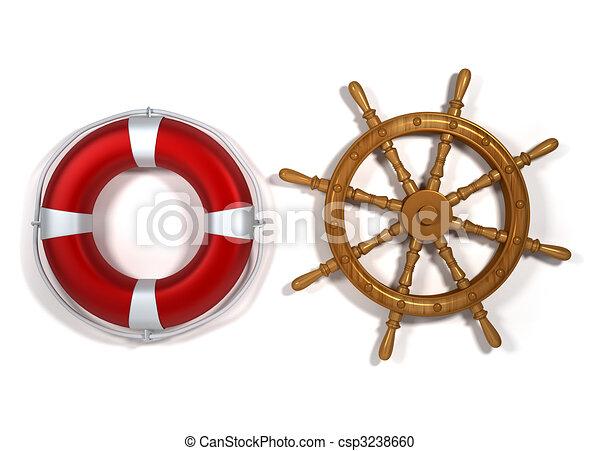 Nautical equipment - csp3238660