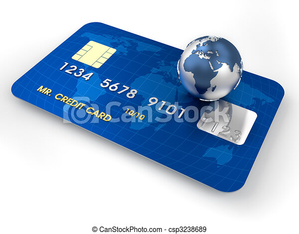 Credit card - csp3238689