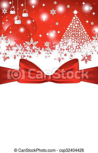 Christmas card - csp32404426