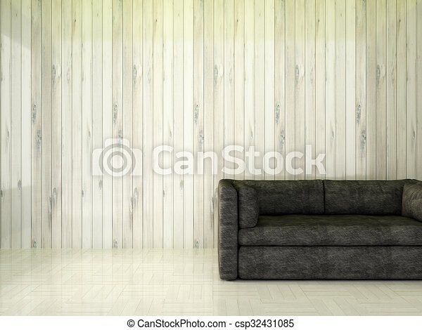 Modern interior room  - csp32431085