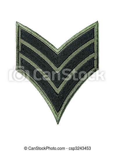 Army badge - csp3243453