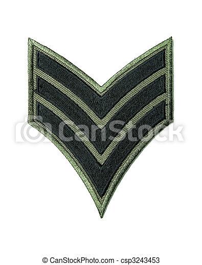 Army badge - csp3243453