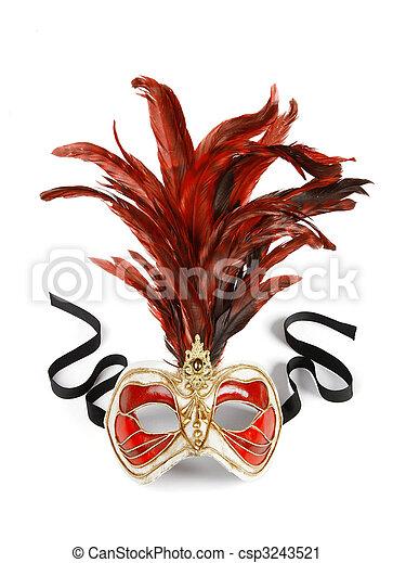 Venetian mask - csp3243521