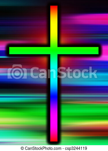 Colour Holy Cross - csp3244119