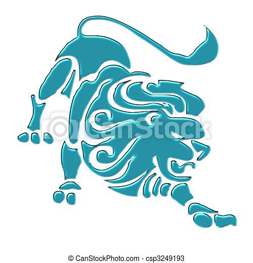 Leo Astrology Sign - csp3249193