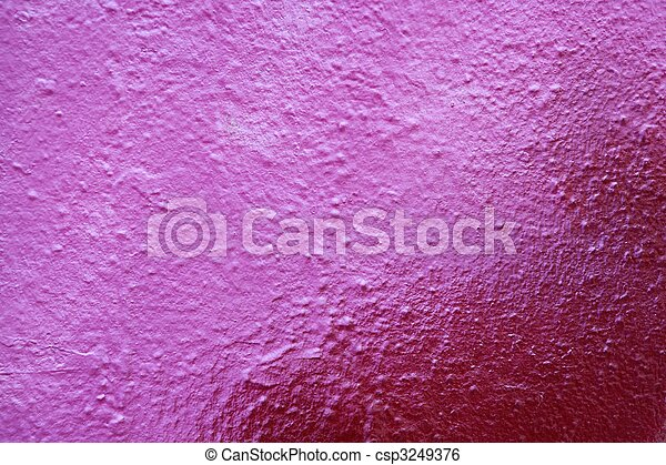 Aged pink cement wall background - csp3249376