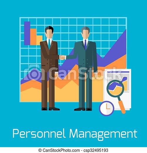 Clip Art Personnel Management
