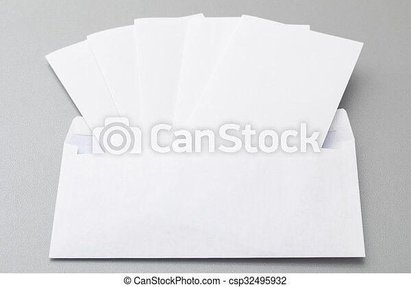 Five Folded Sheets in an Envelope
