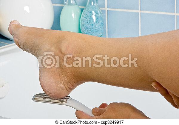 Foot treatment - csp3249917
