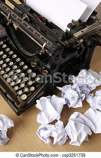 writer?s block - csp3251739