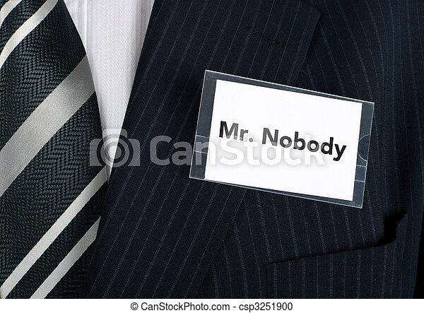 Mr. Nobody - csp3251900
