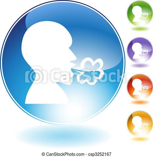 Illness Crystal Icon Set - csp3252167