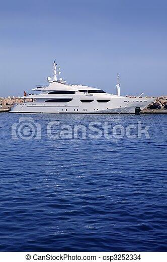 Mallorca Puerto Portals port harbor marina Spain - csp3252334