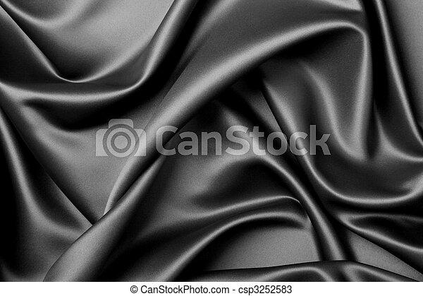 Black satin - csp3252583