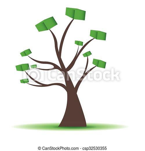 Abstract tree - csp32530355
