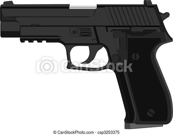 pistol  - csp3253375