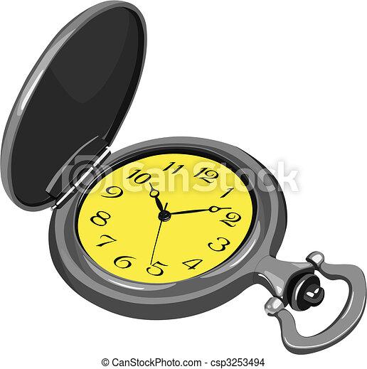 pocket watch - csp3253494