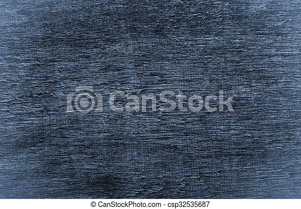 Natural blue wooden background.