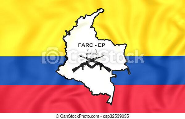 dessins de drapeau farcep 3d drapeau de les farc