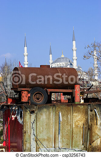 Poverty in Istanbul - csp3256743