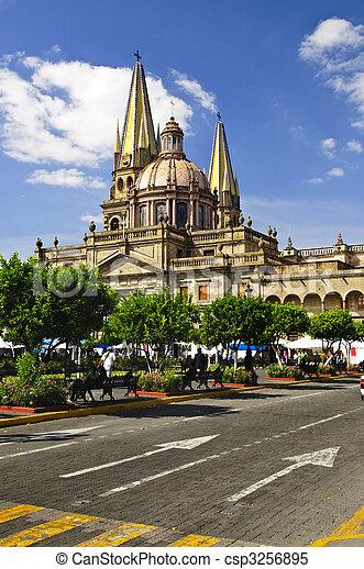 Guadalajara Cathedral in Jalisco, Mexico - csp3256895