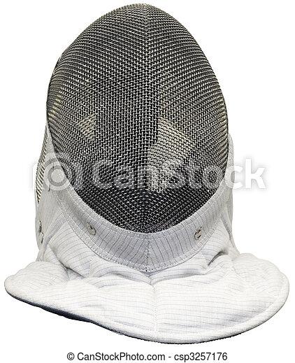 Fencing mask - csp3257176