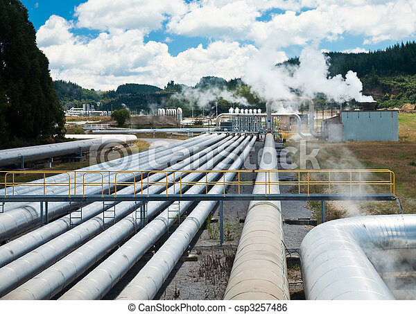 Geothermal power station - csp3257486