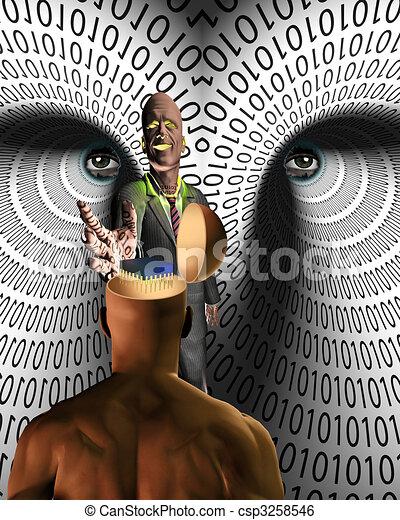Data Thief - csp3258546