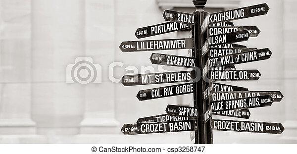 Directions to landmarks - csp3258747