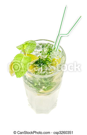 mojito alcohol fresh cocktail - csp3260351