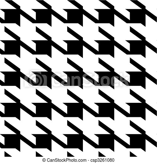 Houndstooth large background - csp3261080
