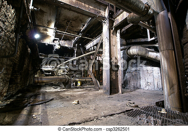 Old abandoned factory - csp3262501