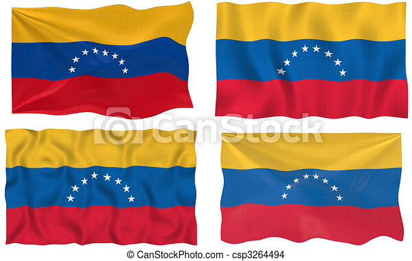 bandera, venezuela - csp3264494