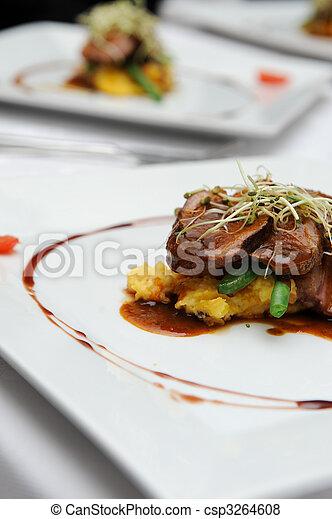 Gourmet food - csp3264608